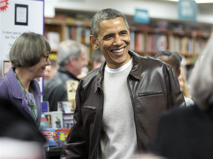 Chiếc áo da của Barack Obama
