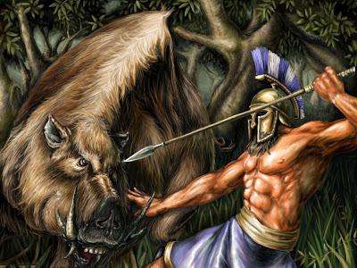 Da lợn rừng - phần thưởng cho kẻ can đảm