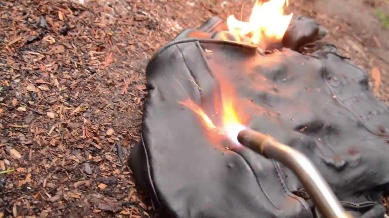 Áo da thật cao cấp thì tuyệt đối không được đốt thử ??