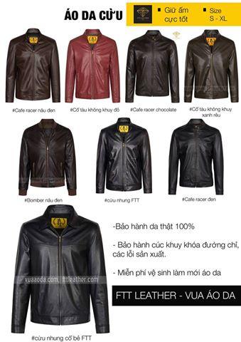 Bạn chọn áo da Biker hay áo da Bomber