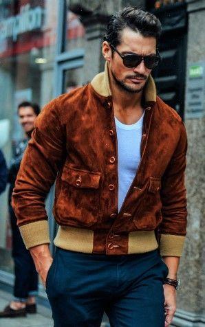 1001 Cách phối đồ với áo khoác da nam 2017