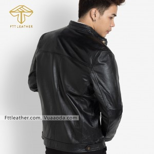 ÁO DA BÒ GHÉP N011 -FTT LEATHER - RE CR