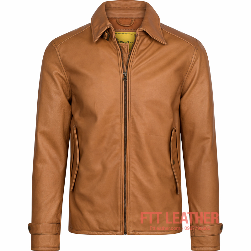 Áo da Classic Tanning Leather- MS CL04YL