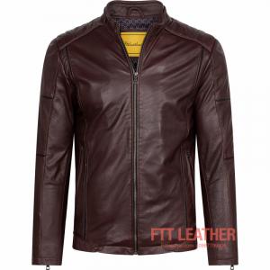Áo da Racer Jacket – MS MJ03PP