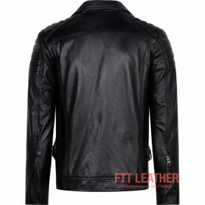 Áo da Biker Jacket – MS BJ01BL -LX