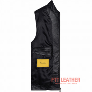 Áo da Racer Jacket – MS MJ01BL - LX