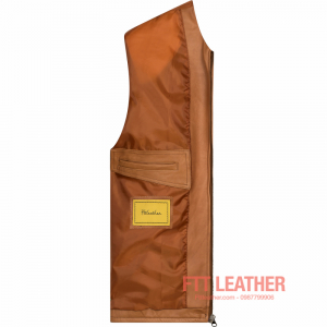 Áo da Classic Tanning Leather- MS CL04YL U7