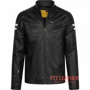 Áo da Motorcycle Jacket - MS MJ04BL2
