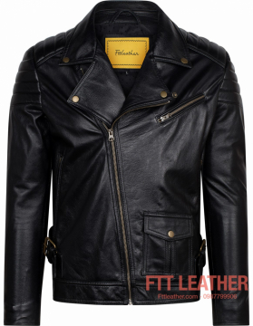 Áo da Biker Jacket – MS BJ01BL -U5