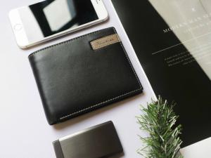 Ví da nam cao cấp FTT Leather màu đen