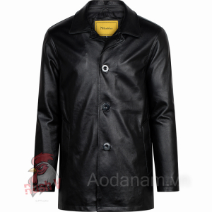 Classic Leather Coat - Áo da cừu dáng Măng to mã 101345CH012018 - U5
