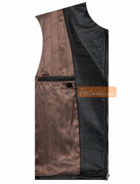 Classic Biker Jacket - Áo da bò dáng Classic Biker Jacket Fttleather 2018 - U5