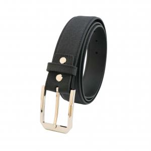 Thắt lưng nam da bò Mill đen mã DF33920101BL