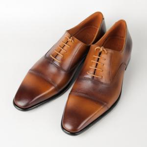 Giày Oxford cap-toe màu vàng bò độc đáo cho nam giới