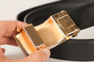 Thắt lưng nam mặt kính FTT Leather mã DF230402V