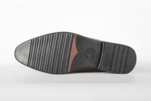 Sục da nam màu nâu - mẫu giày mùa hè f040141
