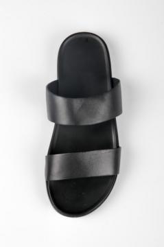 Dép nam mẫu 01 - chất liệu da bò FTT Leather