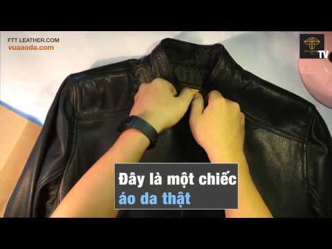 Cách phân biệt áo da thật và áo giả da trong 10 giây